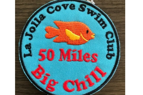 50 mile Chill Swim Patch