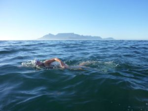 Swimming to Blouberg