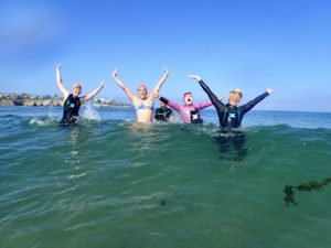 The joy of open water swimming
