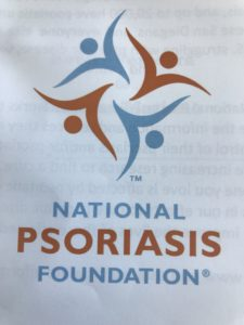 Support my swim donate to the National Psoriasis Foundation