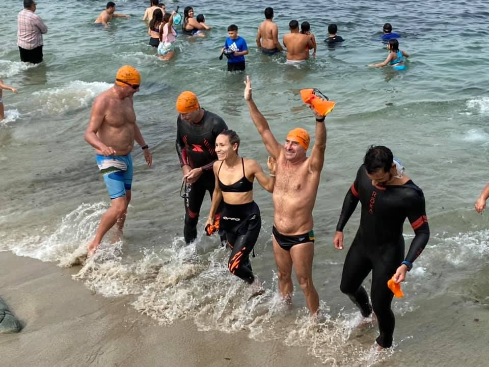 Conclusion of the Cardiff to Cove 2020 Swim